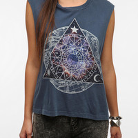 Urban Outfitters - Truly Madly Deeply Cosmic Zodiac Muscle Tee