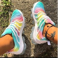 Nike Air Max Vapormax Plus Women Casual Air Cushion Gradient Sport Running Shoes Sneakers
