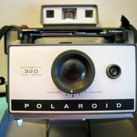 Late 1960s Polaroid 320 Automatic Land Camera by timepassagesshop