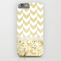GOLDEN FASHION DREAM - for iphone iPhone & iPod Case by Simone Morana Cyla