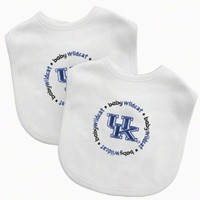 Baby Fanatic Team Color Bibs, University of Kentucky, 2-Count