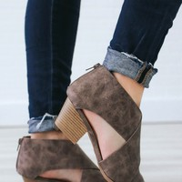 Walk My Way Booties