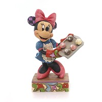 Jim Shore SUGAR SPICE EVERYTHING NICE Minnie Mouse Baker Cupcakes 4055411