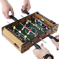 WIN MAX Funny Mini Size Table Soccer Competition Triumph Game Accessory  For Game Rooms Bed Rooms College dorms