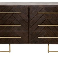 Mosaic Double Dresser - Contemporary - Dressers - by Orient Express Furniture