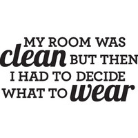 Clean Room Decal - Small