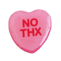 No Thx Sweetheart Pin