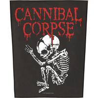 Cannibal Corpse Men's Foetus Back Patch Black