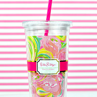 LILLY PULITZER: Tumbler - All Nighter