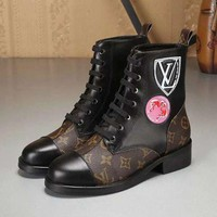 LV Louis Vuitton Women Heels Shoes Boots G