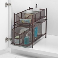 .ORG Under the Sink Mesh Slide-Out Cabinet Drawer