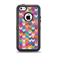 The Color Knitted Apple iPhone 5c Otterbox Defender Case Skin Set