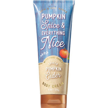 Spiced Pumpkin Cider Body Cream - Signature Collection | Bath And Body Works