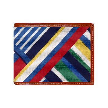 Essex Needlepoint Wallet by Smathers & Branson