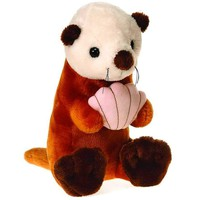 """""""comfies"""" - 16"""" b/b sea otter holding Case of 12"""