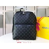 Louis Vuitton LV Fashion Hot Selling Men and Women Filled with Printed Backpack Shopping Bags N-MYJSY-BB