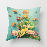 I Carry You With Me Into the World Throw Pillow by Olivia Joy StClaire