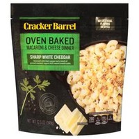Cracker Barrel Oven Baked Mac & Cheese White Cheddar - 12.3oz