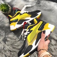 Puma Rs-X Toys color matching mesh breathable men and women old shoes