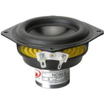 """Dayton Audio ND90-8 3-1/2"" Aluminum Cone Full-Range Driver 8 Ohm"" from www.parts-express.com!"