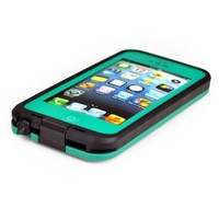 New Waterproof Shockproof Dirtproof Snowproof Protection Case Cover for Apple Iphone 5 (Teal) (Teal, iPhone 5/5S)