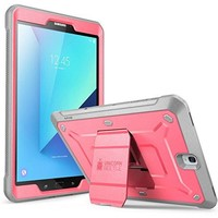 """SUPCASE Galaxy Tab S3 9.7"""" Case Unicorn Beetle Pro Series Full-Body Rugged with Built-In Screen Protector, Pink/Gray (SUP-Galaxy-TabS3-9.7-UBPro-Pink/Gray)"""