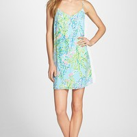 Women's Lilly Pulitzer 'Dusk' Print Silk Slipdress,