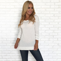 Stella Chain Top In Ivory