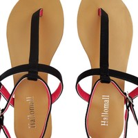 Leather Flat Sandals for Summer