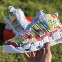 [ Free Shipping ] Nike Air More Uptempo 96 UK London QS AV3809-700 Europe Pack Basketball Shoes