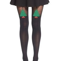 Pretty Polly 'Christmas Tree' Tights | Nordstrom