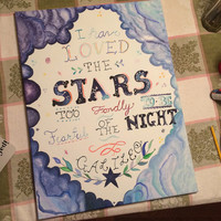 I Have Loved the Stars- Galileo Canvas Painting