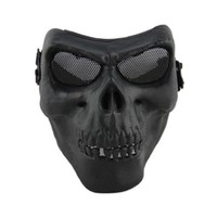 Death Skull Bone Airsoft Full Face Protect Safe Mask M02