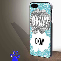 The Fault in Our Stars Qoutes  for iphone 4/4s/5/5s/5c/6/6+, Samsung S3/S4/S5/S6, iPad 2/3/4/Air/Mini, iPod 4/5, Samsung Note 3/4 Case *NP*