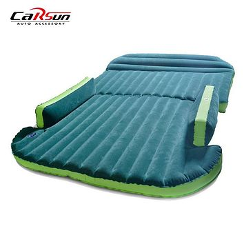 190*130*16CM Car Travel Bed Inflatable Car Mattress For Camping Air Mattress Bed Inflatable Outdoor Camping Car Bed