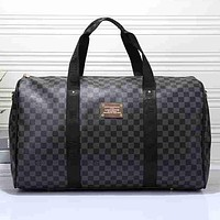 Louis Vuitton Travel Bag Leather Tote Handbag Shoulder Bag