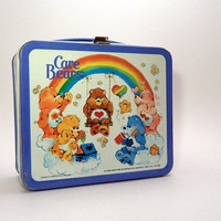 Care Bears Tin Lunchbox by SpaceshipEarth on Etsy