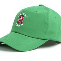 Muan Cherry Bomb Golf Wang Baseball Cap Vol.2 (3. Green)
