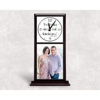 Personalized Mantle Clock | Custom Wall Decor | Decide Time