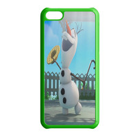 Funny Olaf Frozen Singing iPhone 5C Case