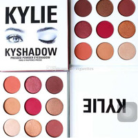 In Stock THE BURGUNDY PALETTE | KYSHADOW Kylie Jenner Newest Kyshadow Eyeshadow Of Your Dreams Makeup Eye Shadow free shipping