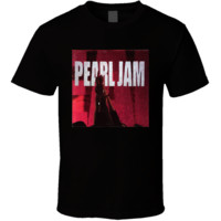 Pearl Jam Ten Album T Shirt