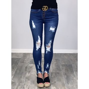 Live For This Skinny Jeans
