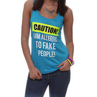 rue21 :   SLSH ALLG FAKE PPL