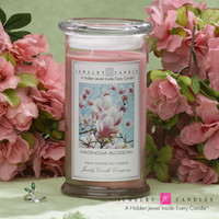 Magnolia Blossom Jewelry Candle - Limited Jewelry & Sizes!
