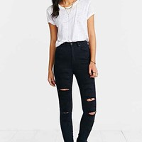 Neuw Marilyn Skinny-Fit Jean - Silk Shadow- Black