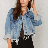 After Party Vintage Hillary Cropped Jacket