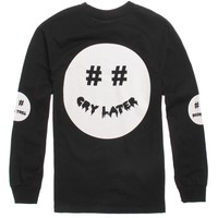 Been Trill Trill Smile Long Sleeve T-Shirt - Mens Tee - Black -