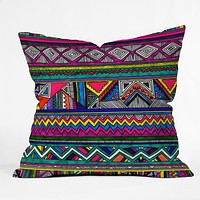 Kris Tate Kaqchikel Throw Pillow