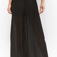 Semi-Sheer Maxi Skirt